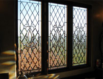 southern california beveled and leaded glass windows and doors