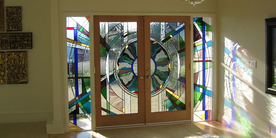 The Beveled Edge Art Glass Studio Custom Leaded Glass