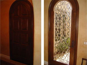 southern california entry door remodel