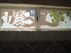 southern california etched glass